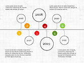 Timelines & Calendars: Timeline infographics collectie #04042