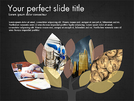 Company Creative Presentation Template, Slide 10, 04044, Presentation Templates — PoweredTemplate.com