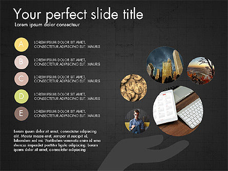 Company Creative Presentation Template, Slide 12, 04044, Presentation Templates — PoweredTemplate.com