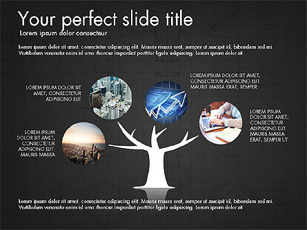 Company Creative Presentation Template, Slide 13, 04044, Presentation Templates — PoweredTemplate.com