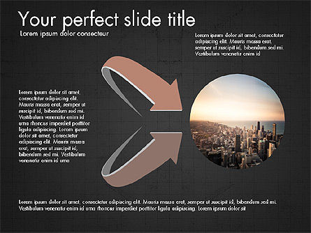 Company Creative Presentation Template, Slide 16, 04044, Presentation Templates — PoweredTemplate.com