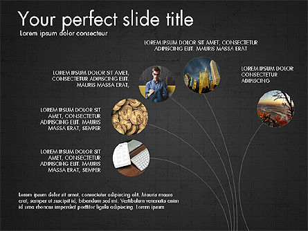 Company Creative Presentation Template, Slide 9, 04044, Presentation Templates — PoweredTemplate.com