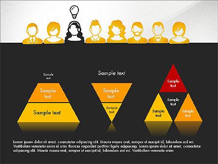 Idea, Work, Success Presentation Concept Slide 11