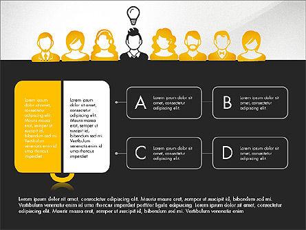 Idea, Work, Success Presentation Concept Slide 12