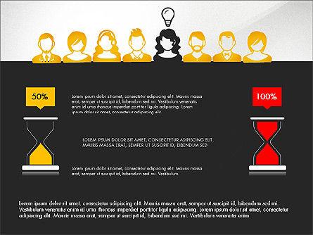 Idea, Work, Success Presentation Concept Slide 13