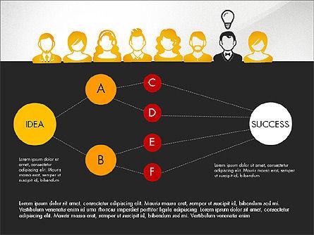 Idea, Work, Success Presentation Concept Slide 15