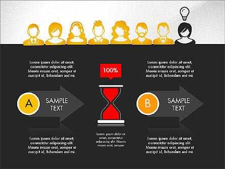Idea, Work, Success Presentation Concept Slide 16