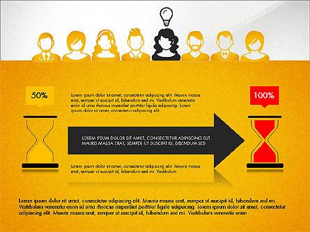 Idea, Work, Success Presentation Concept Slide 5