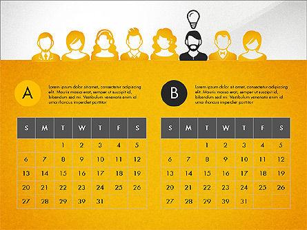 Idea, Work, Success Presentation Concept Slide 6