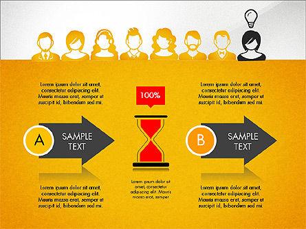Idea, Work, Success Presentation Concept Slide 8