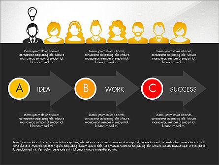 Idea, Work, Success Presentation Concept Slide 9