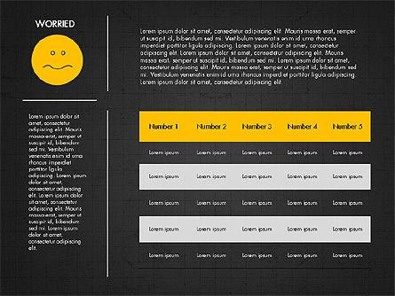 Emotions Presentation Concept, Slide 10, 04048, Presentation Templates — PoweredTemplate.com