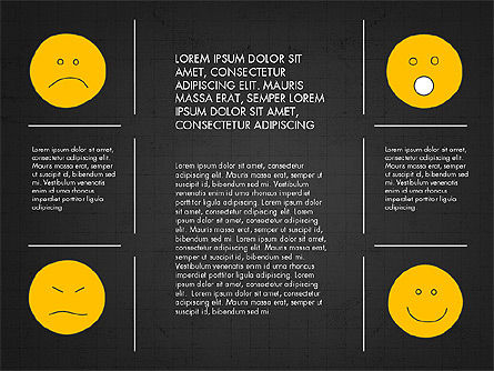 Emotions Presentation Concept, Slide 11, 04048, Presentation Templates — PoweredTemplate.com