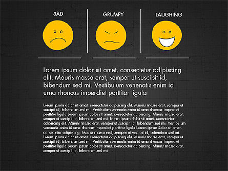 Emotions Presentation Concept, Slide 13, 04048, Presentation Templates — PoweredTemplate.com