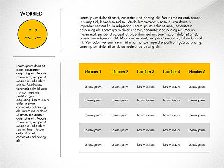 Emotions Presentation Concept, Slide 2, 04048, Presentation Templates — PoweredTemplate.com
