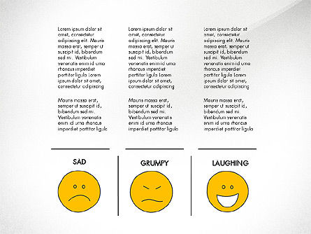 Emotions Presentation Concept, Slide 8, 04048, Presentation Templates — PoweredTemplate.com
