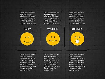 Emotions Presentation Concept, Slide 9, 04048, Presentation Templates — PoweredTemplate.com