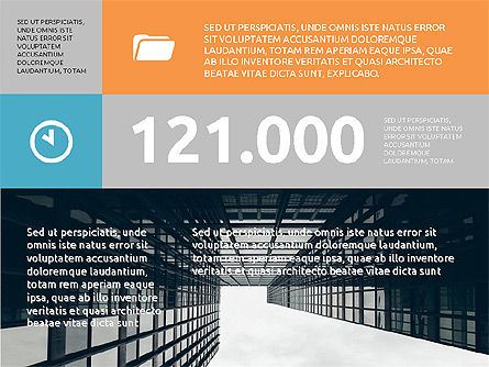 Corporate Brochure Presentation Template, Slide 2, 04052, Presentation Templates — PoweredTemplate.com
