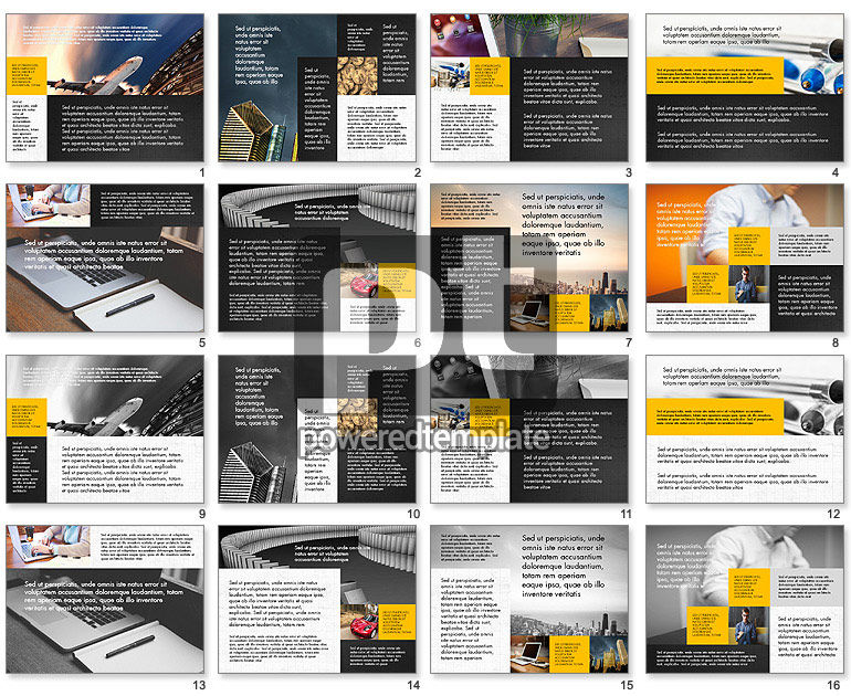 Modern Brochure Presentation Template