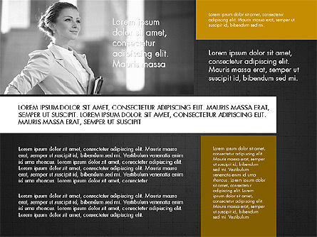 Business People Brochure Presentation Template Slide 11