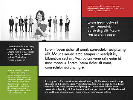 Business People Brochure Presentation Template Slide 12