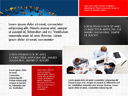 Business People Brochure Presentation Template Slide 2
