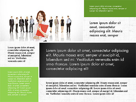 Business People Brochure Presentation Template Slide 4