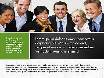 Business People Brochure Presentation Template Slide 7