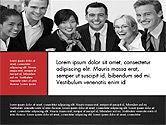 Business People Brochure Presentation Template#15