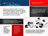 Business People Brochure Presentation Template#2