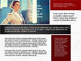 Business People Brochure Presentation Template#3