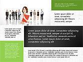 Business People Brochure Presentation Template#4