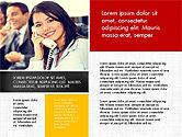 Business People Brochure Presentation Template#6