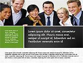 Business People Brochure Presentation Template#7