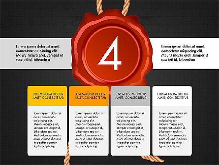 Seal Wax Themed Infographics Slide 12