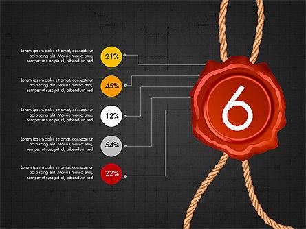 Seal Wax Themed Infographics Slide 14