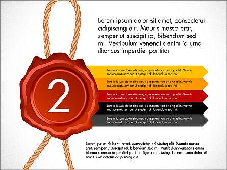 Seal Wax Themed Infographics Slide 2