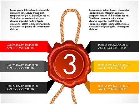 Seal Wax Themed Infographics Slide 3