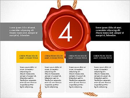 Seal Wax Themed Infographics Slide 4