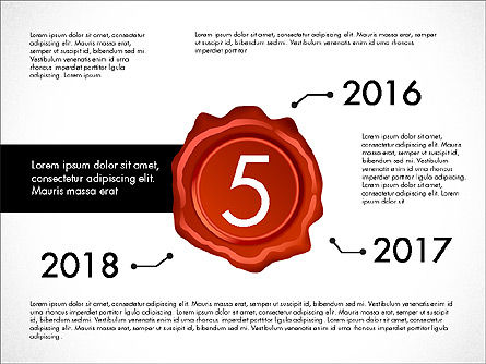 Seal Wax Themed Infographics Slide 5