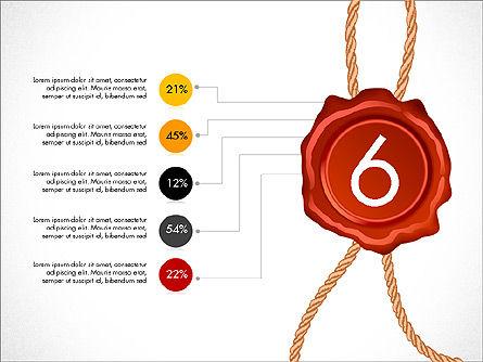 Seal Wax Themed Infographics Slide 6