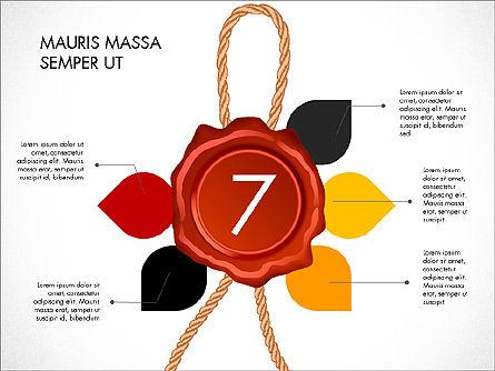 Seal Wax Themed Infographics Slide 7