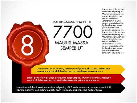 Seal Wax Themed Infographics Slide 8