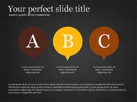 Flat Design Infographic Shapes Slide 13