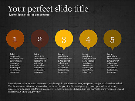 Flat Design Infographic Shapes Slide 15
