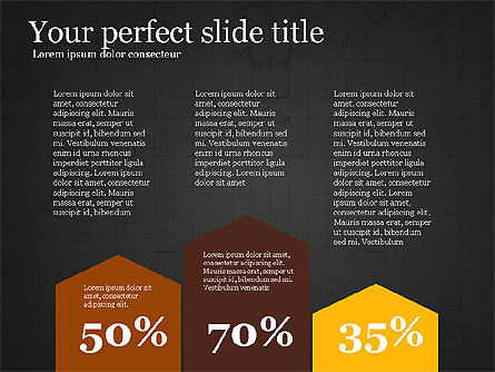 Flat Design Infographic Shapes Slide 16