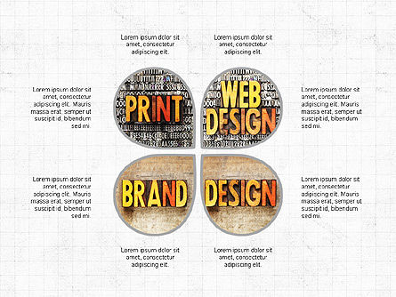Brand Design Infographics, 04062, Presentation Templates — PoweredTemplate.com