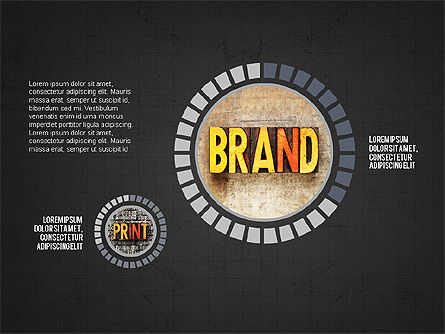 Brand Design Infographics Slide 15