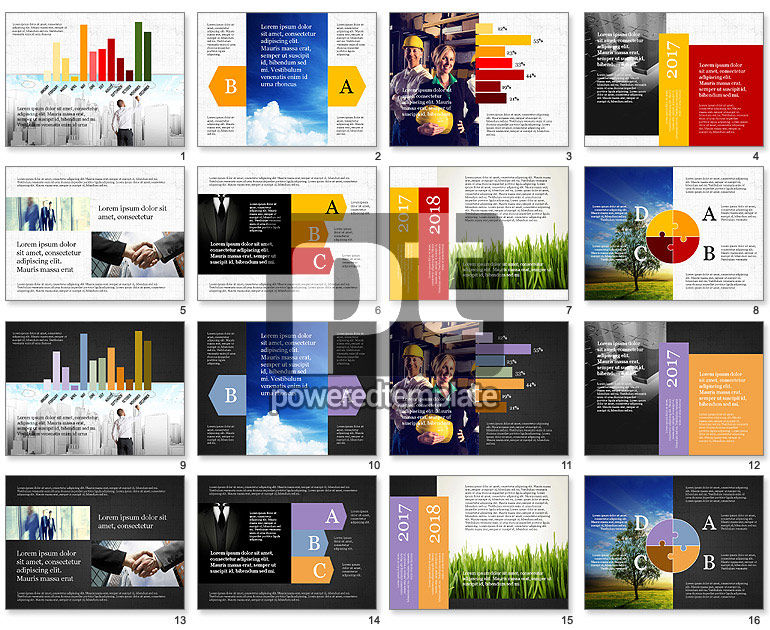 Business Brochure Presentation Template