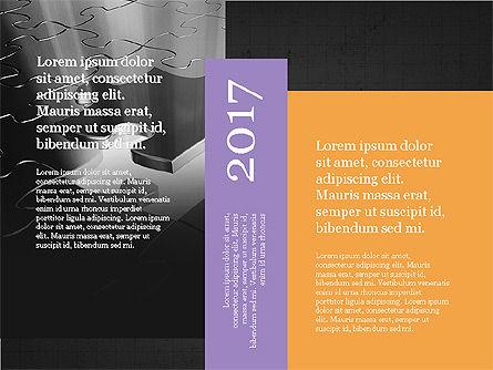 Business Brochure Presentation Template, Slide 12, 04064, Presentation Templates — PoweredTemplate.com